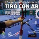Cartel del II Campeonato Ciudad de Santa Cruz de Tenerife de Tiro con Arco