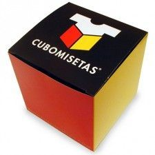 Packaging de Cubomisetas: cubo