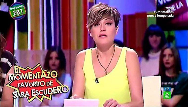 Sara Escudero en Zapeando