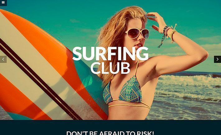Tema WordPress para Surf