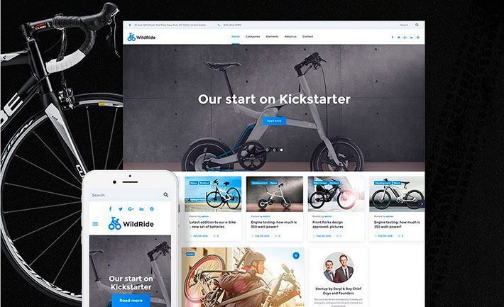 Tema WordPress Wildride